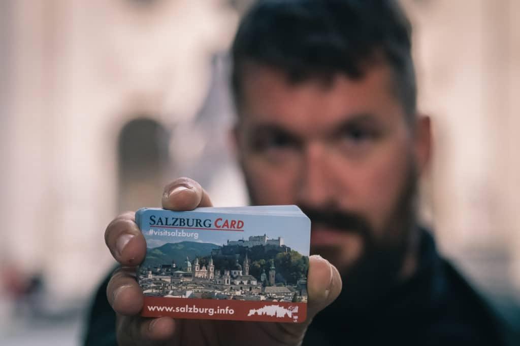 Gerhard Reus and the Salzburg Card