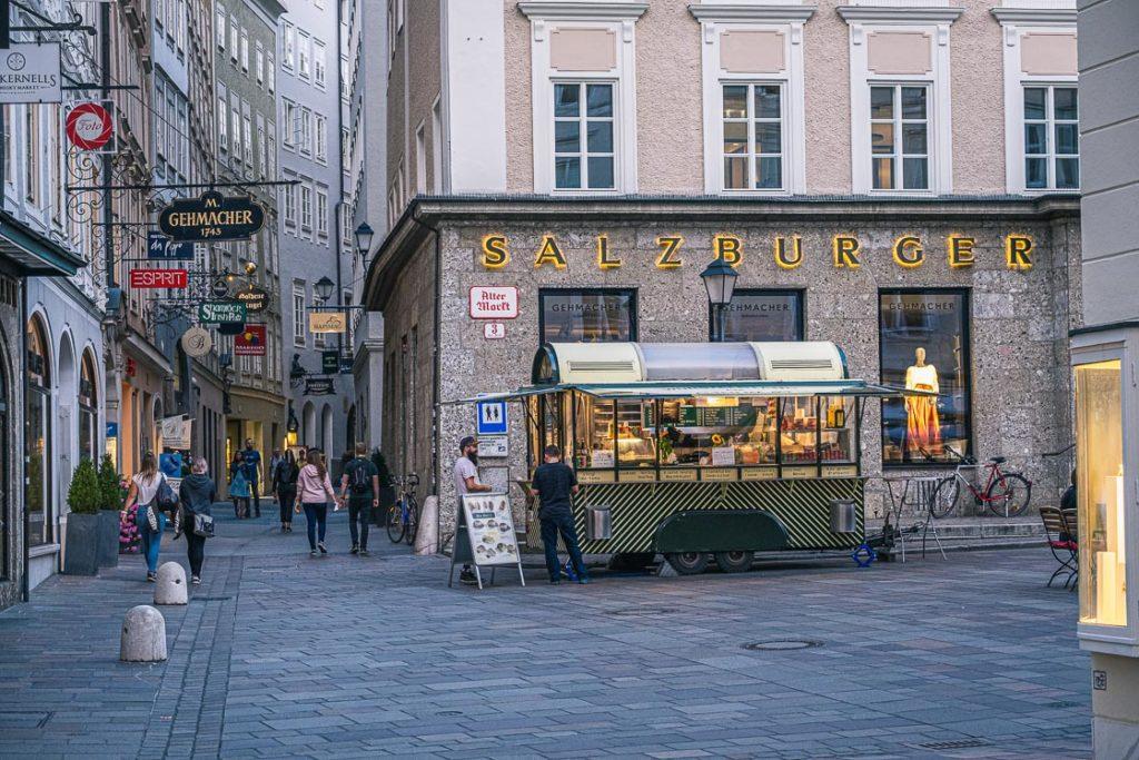 Sausage Stand in Salzburg