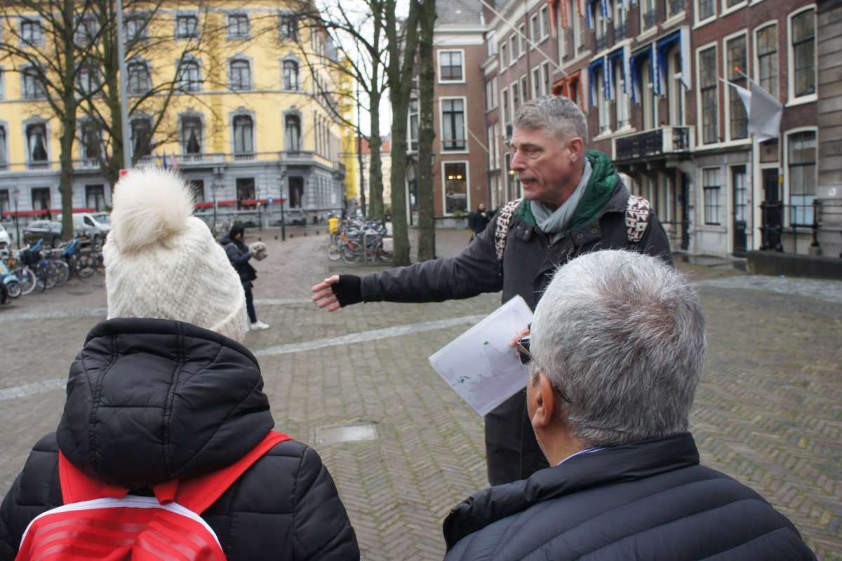Guide of free wlaking tour the hague